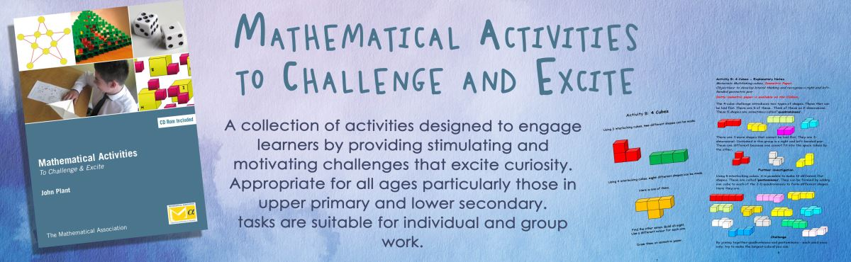 Mathematical Activities to Challenge and Excite