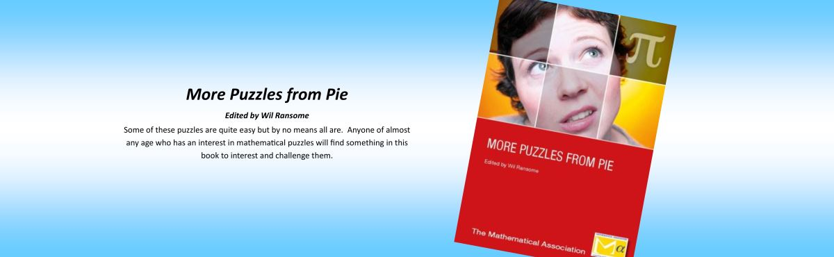 More Puzzles from Pie