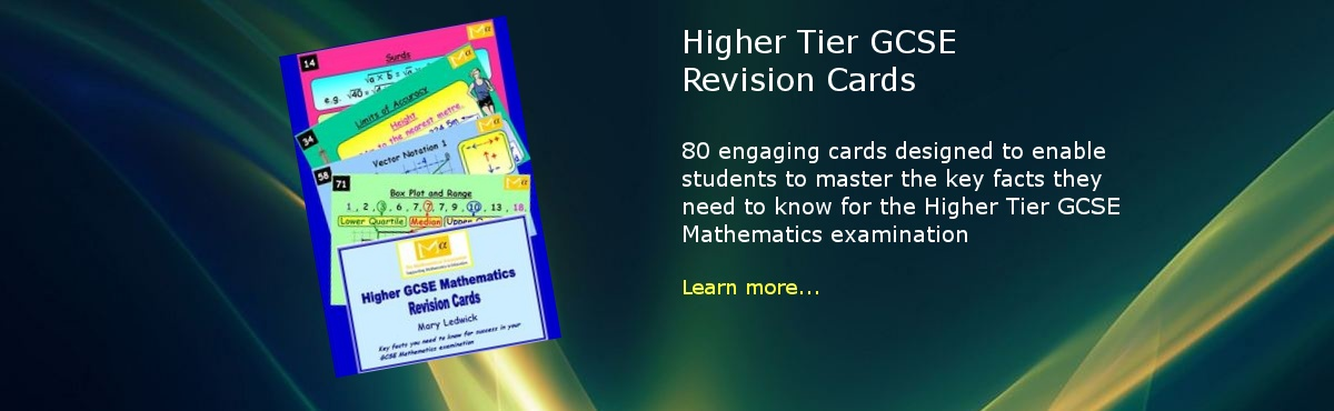 Higher Tier GCSE Revision Cards