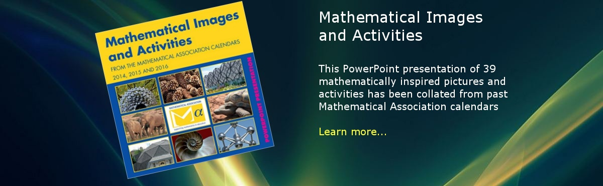 Mathematical Images and Activities CD-Rom