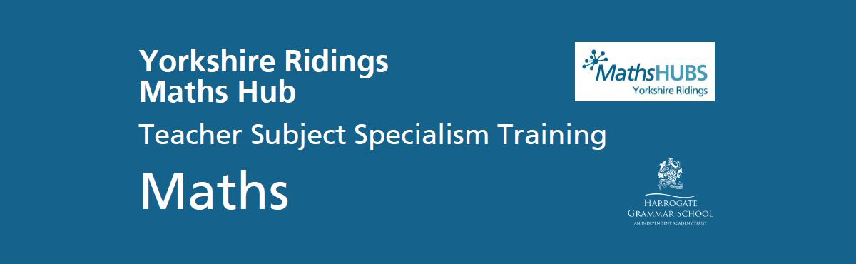 Teacher Subject Specialism Training Maths