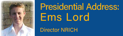 Presidential Address Ems Lord
