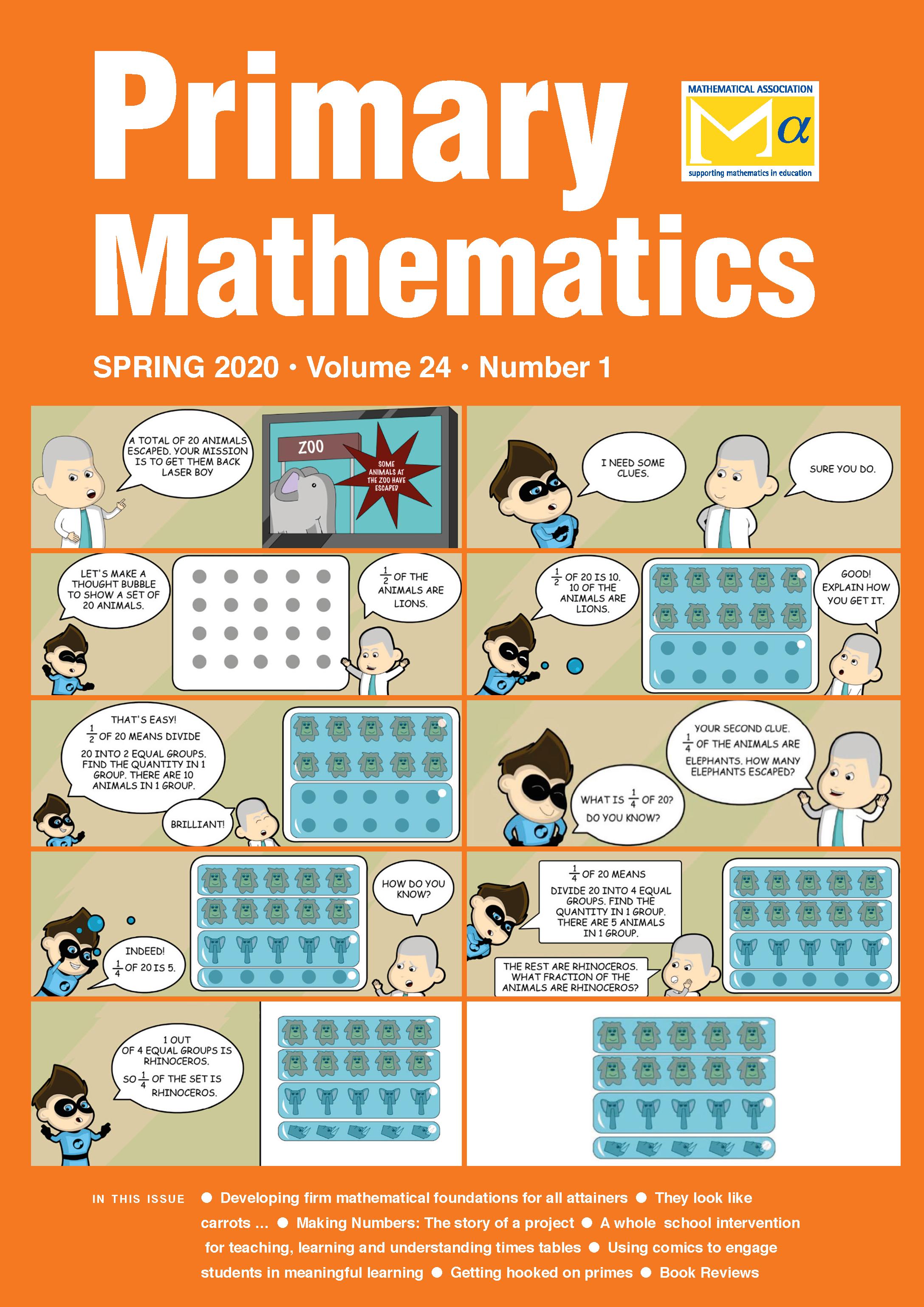 Primary Mathematics Journal