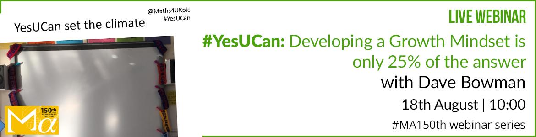 #YesUCan